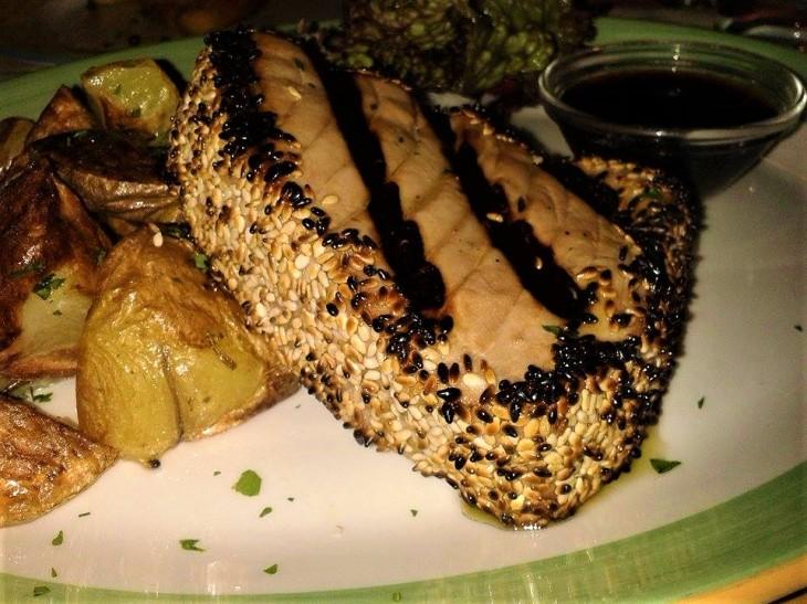 Zio pesce tonno sesamo e soia