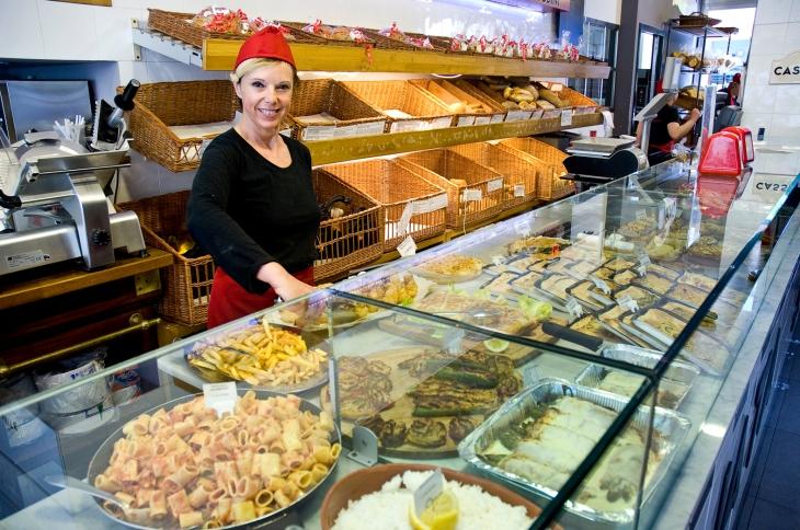 Via Assereto - Recco - Banco gastronomia 1