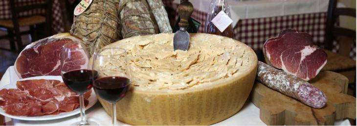 il casale - parmigiano, salumi, vino