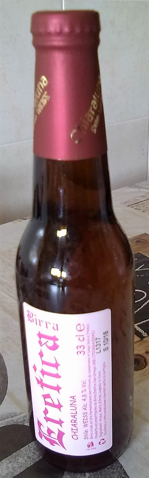 Birra chiaraluna - Eretica
