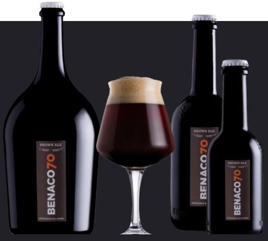 birra brown ale benaco70
