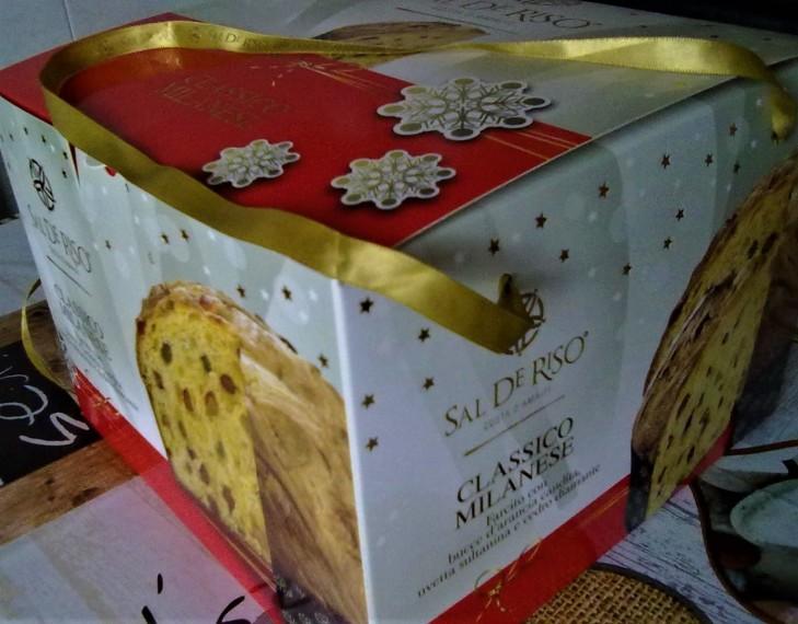 Panettone De Riso scatola