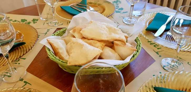 trattoria dai sibani - torta fritta